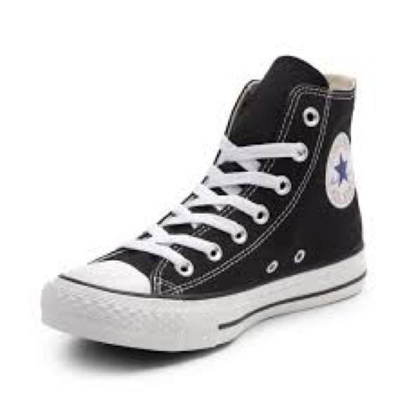 Converse Shoes   Black Classic High Top